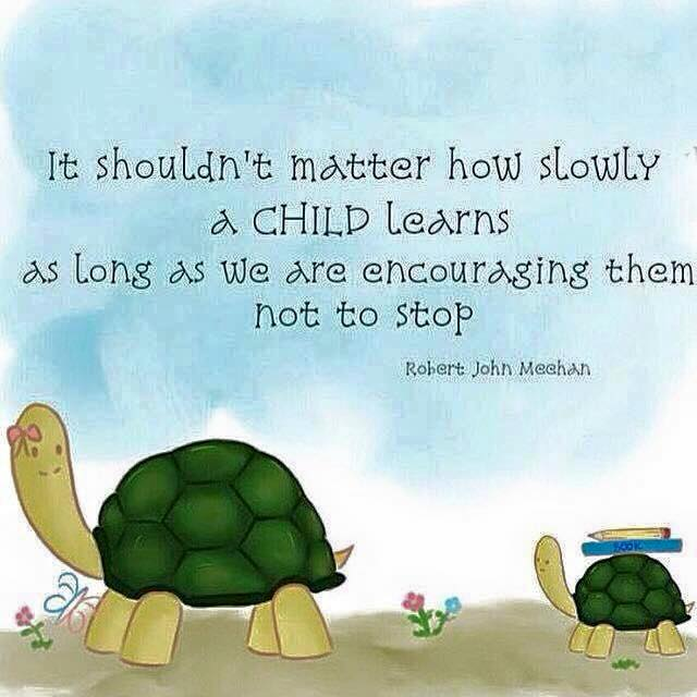 How fast a child learns